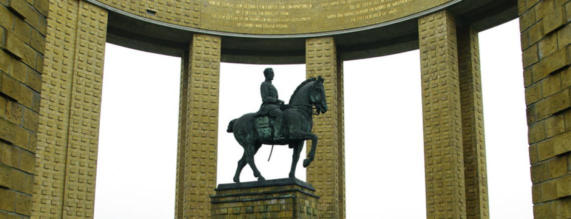 Het koning Albert 1-monument te Nieuwpoort
