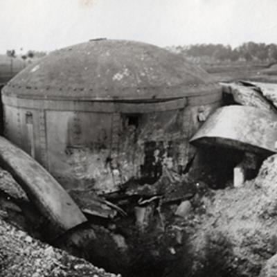 Destroyed cupola